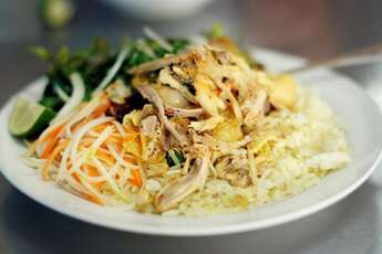 Com ga Hoi An | Arroz con pollo especialidad vietnamita imperdible
