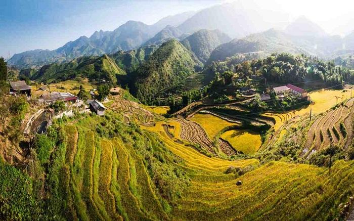 Pueblo de Lao Chai en Vietnam