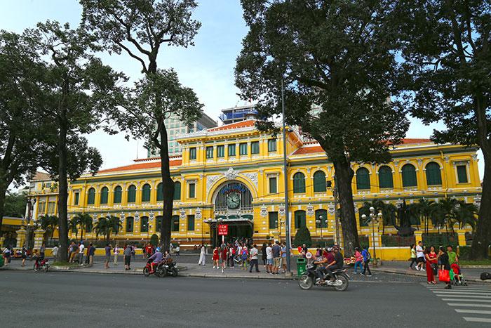 Correo postal de Saigon Ho Chi MInh Vietnam