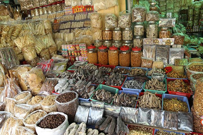 Mercado de Saigon Ho Chi MInh Vietnam