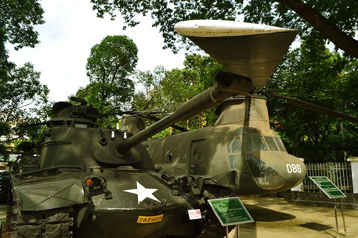 Museo restos de guerra Saigon Ho Chi MInh Vietnam