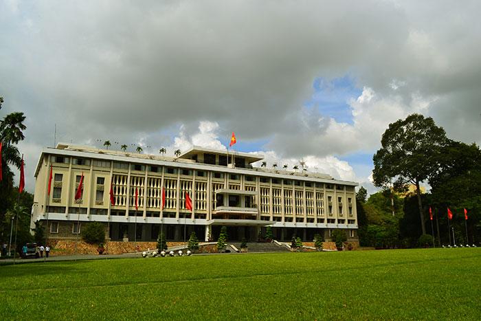 Palacio de la reunificacion en Saigon Ho Chi MInh Vietnam