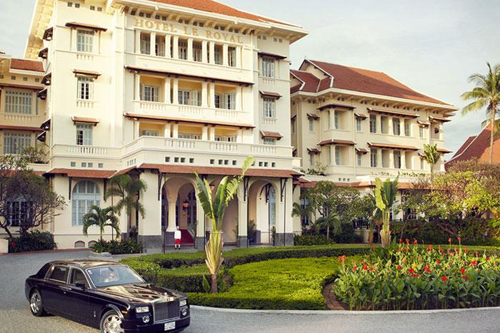Hotel Raffles le Royal en Nom Pen