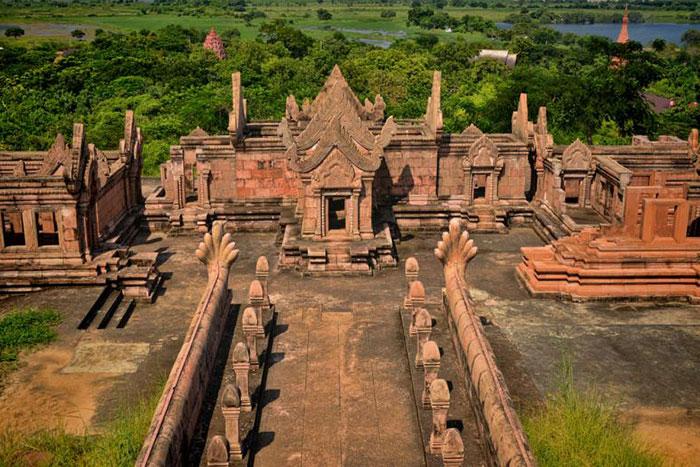templo de Preah Vihear en Camboya