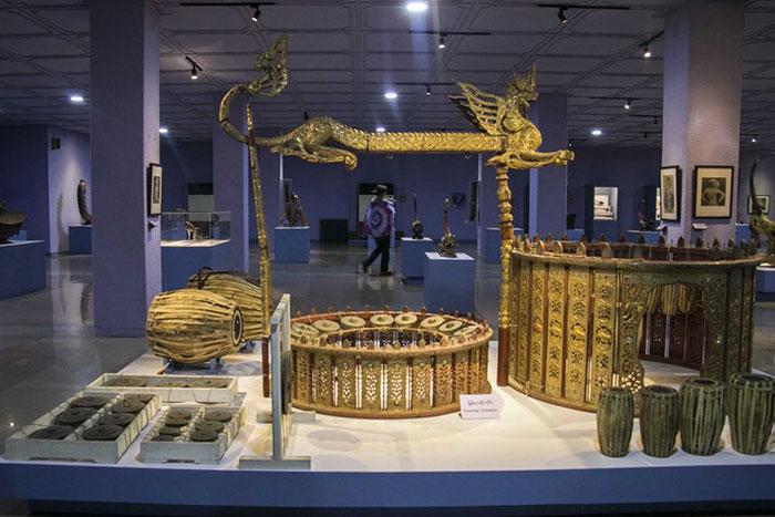 Museo nacional de Myanmar en Yangon