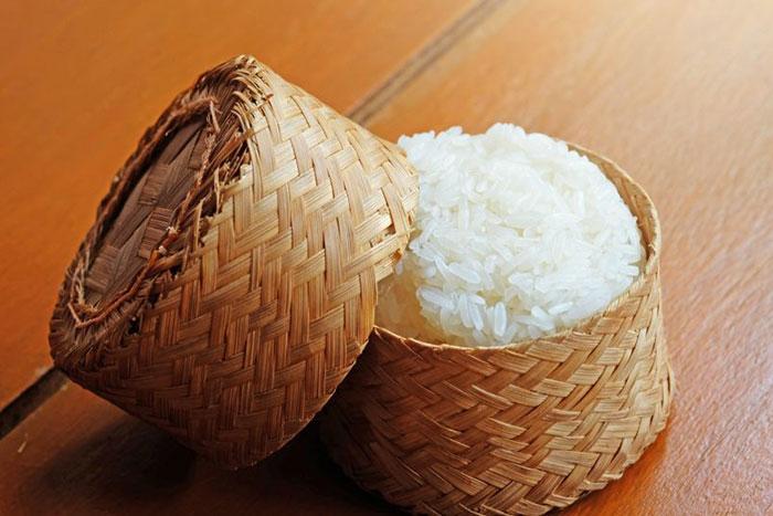 Arroz glutinoso de Laos
