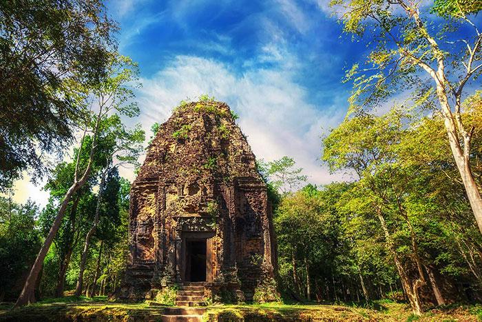 Las 4 mejores cosas para ver en Kampong Thom Sambor Prei Kuk