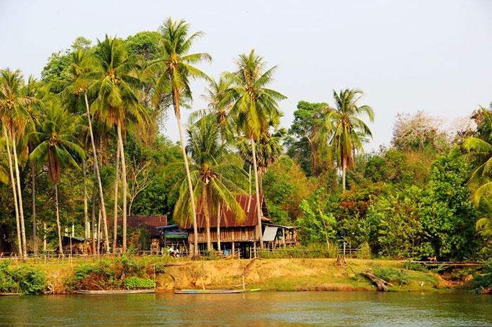 Las 4000 islas en Don Khone Laos
