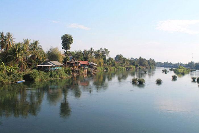 Las 4000 islas en Laos