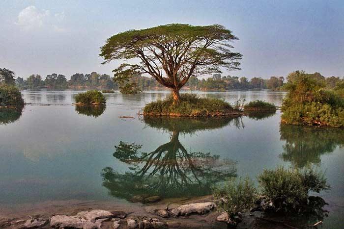Las 4000 islas en el sur de Laos
