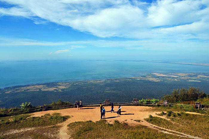 Monte Bokor en Camboya