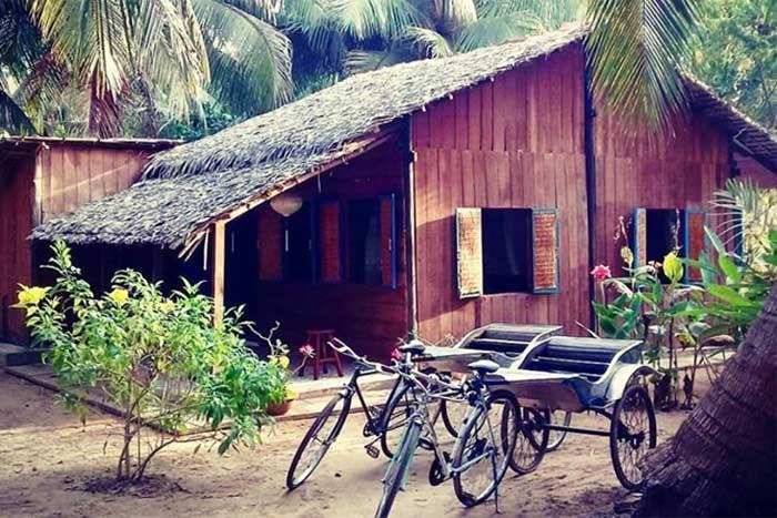 Alojamiento familiar en el delta del Mekong Vietnam
