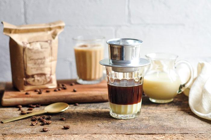 Cafe vietnamita bebida popular en Vietnam