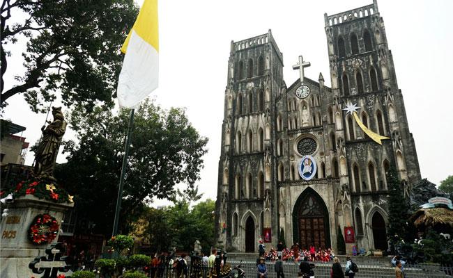 Catedral de San Jose en Hanoi