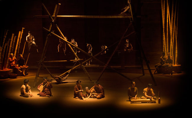 Espectaculo en la Opera de Hanoi