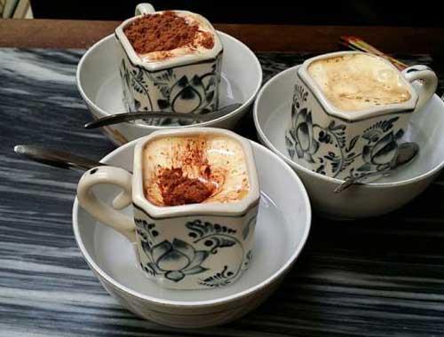 Cafe Giang en el barrio antiguo de Hanoi