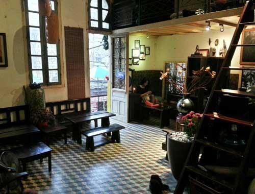 Cafe Hanoi House Vietnam
