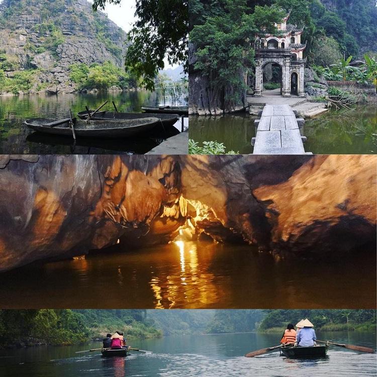 Bich Dong o Pagoda de jade en Ninh Binh