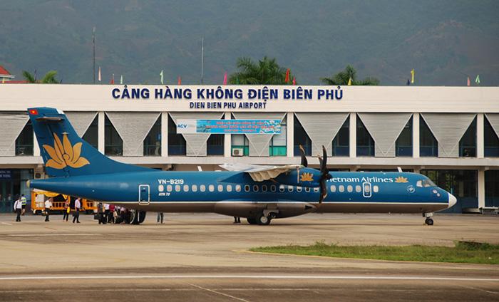 Aeropuerto de Dien Bien Phu en Vietnam