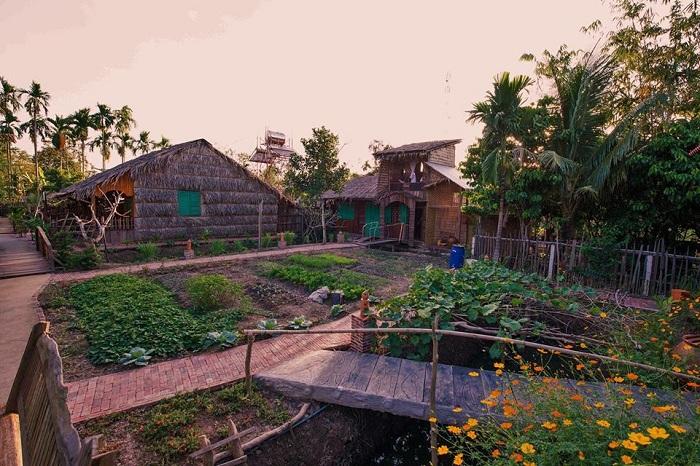 Alojamiento familiar Mekong Rustic Homestay en el Mekong