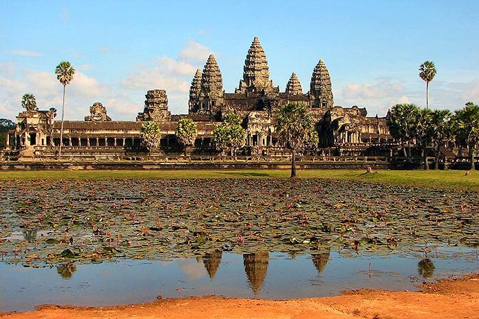 Angkor patrimonio arquitectural en Camboya