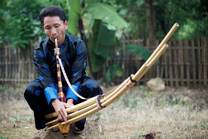 Año nuevo Hmong en Xieng Khouang Laos