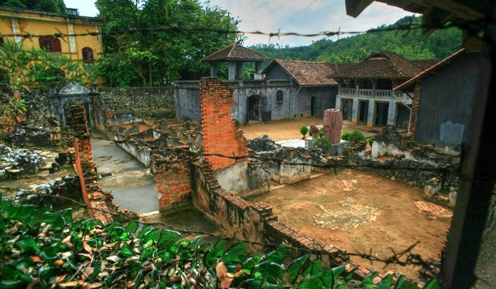 Antigua prision de Son La Vietnam