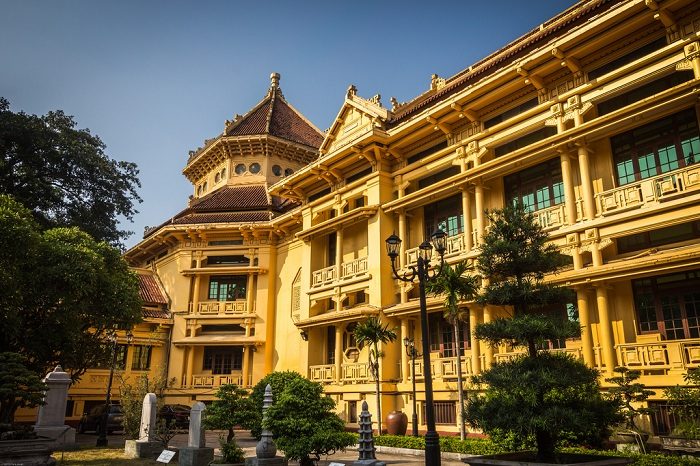 Arquitectura del Museo Nacional de historia de Vietnam