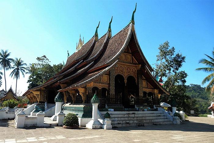 Arquitectura religiosa en Luang Prabang Laos
