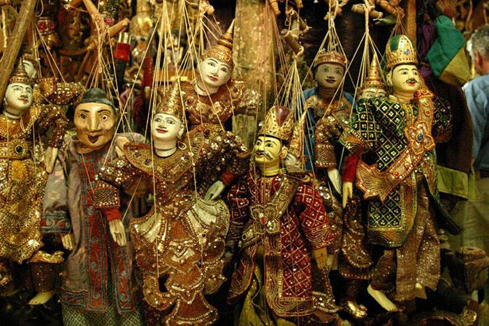 Artesanias en Myanmar