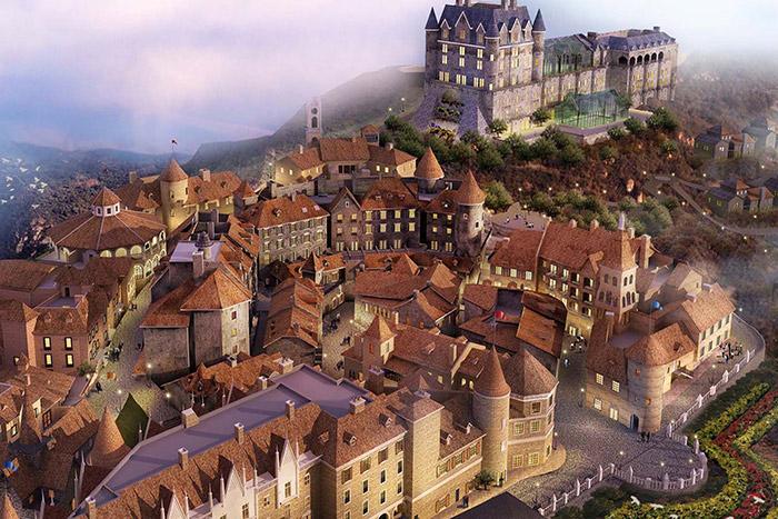 Que ver en Ba Na Hills pueblo medieval frances