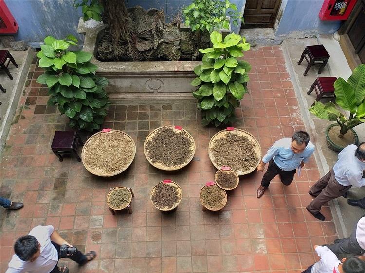 Balcon del museo de medicina tradicional de Hoi An
