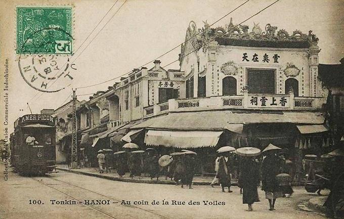 barrio antiguo hanoi 100 años hang bac