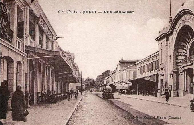 barrio antiguo hanoi 100 años trang tien