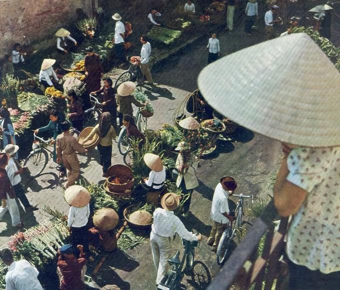 barrio antiguo hanoi calle flores