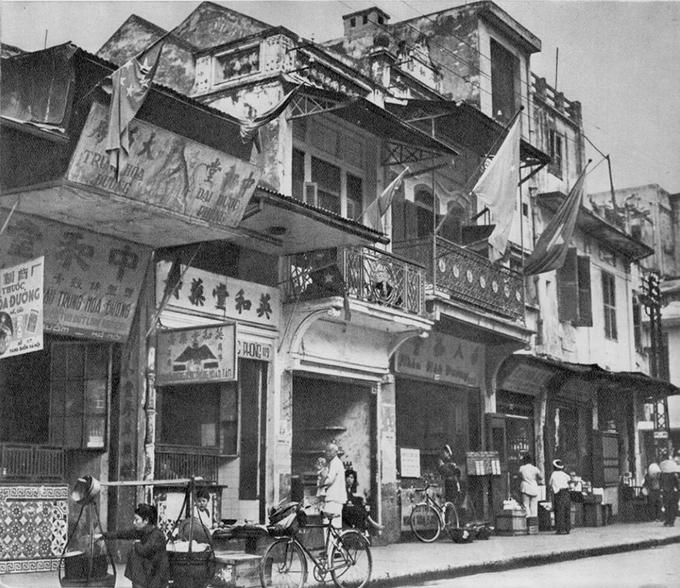 El barrio antiguo de Hanoi calle hang buom