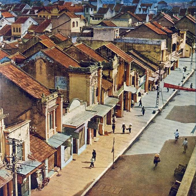 barrio antiguo hanoi casas antiguas