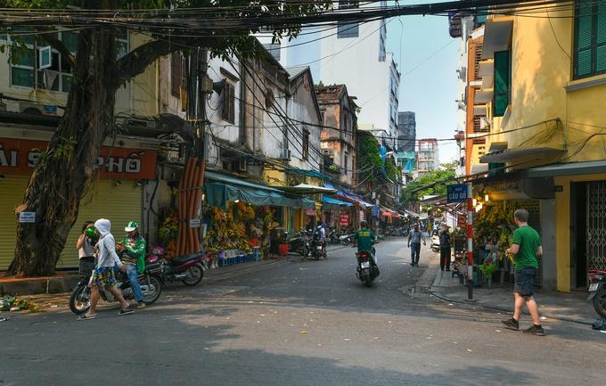 barrio antiguo hanoi cau go