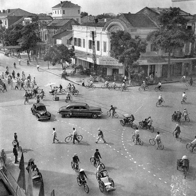 El barrio antiguo de Hanoi circulacion
