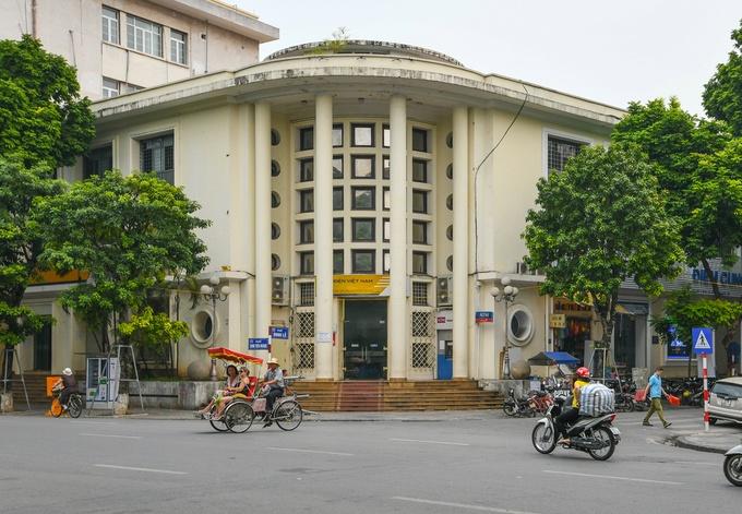 barrio antiguo hanoi correo postal