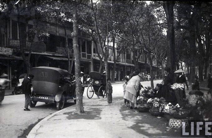 El barrio antiguo de Hanoi durante casi 100 años