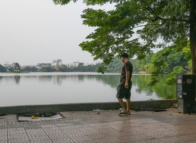 barrio antiguo hanoi lago hoan kiem