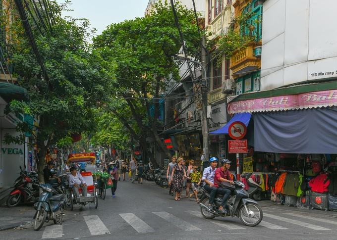 barrio antiguo hanoi ma may
