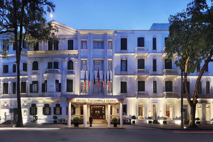 Hotel Metropole Hanoi en el antiguo barrio frances