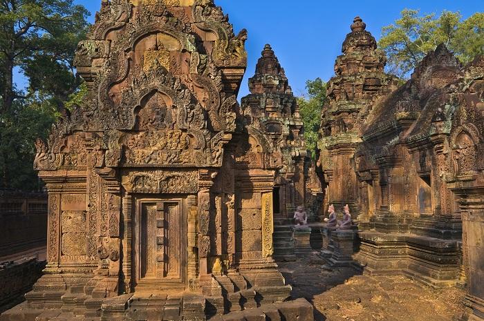 Templo Banteay Srei en Angkor