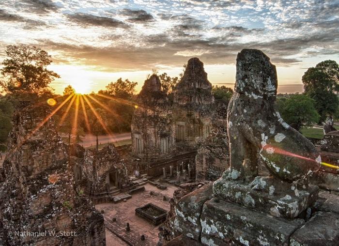 templo Pre Rup en Angkor