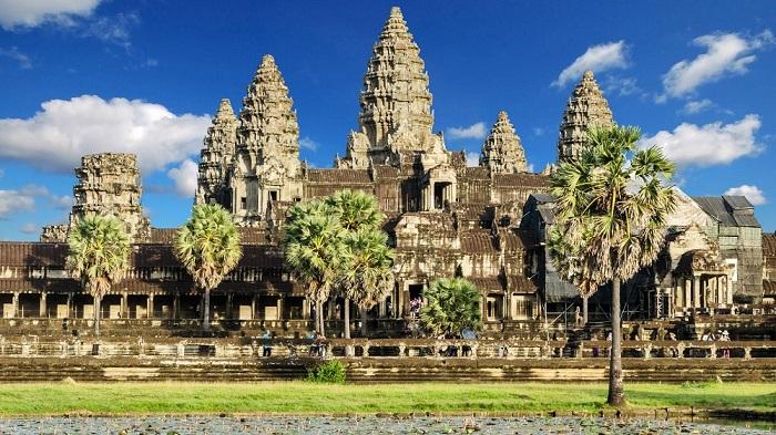 Angkor wat el versailles jemer en Camboya