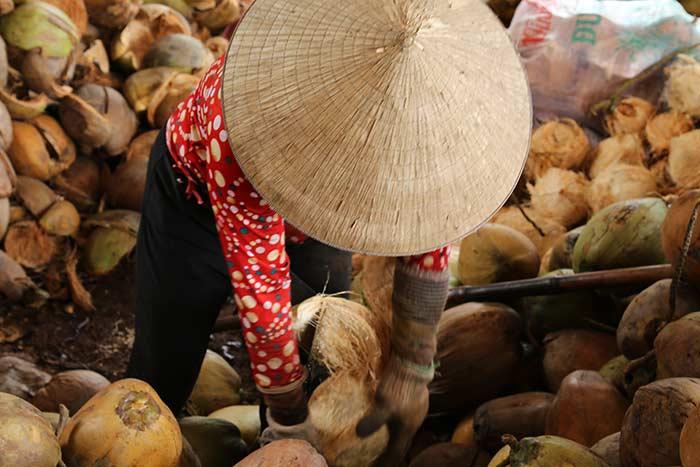 Artesania en Ben Tre Vietnam