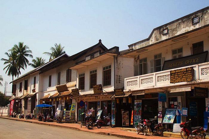 Boutique patrimonio arquitectural de Luang Prabang Laos