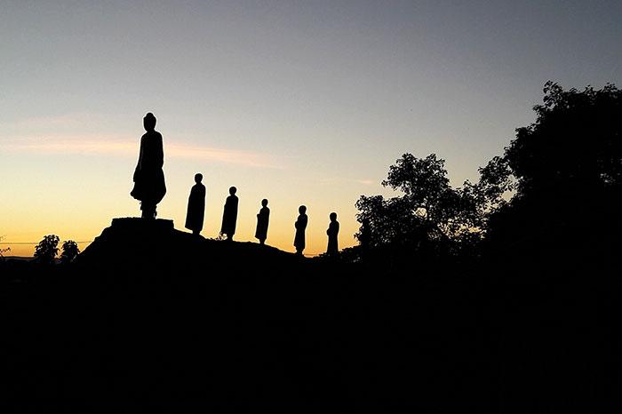 Budas en Mandalay Myanmar